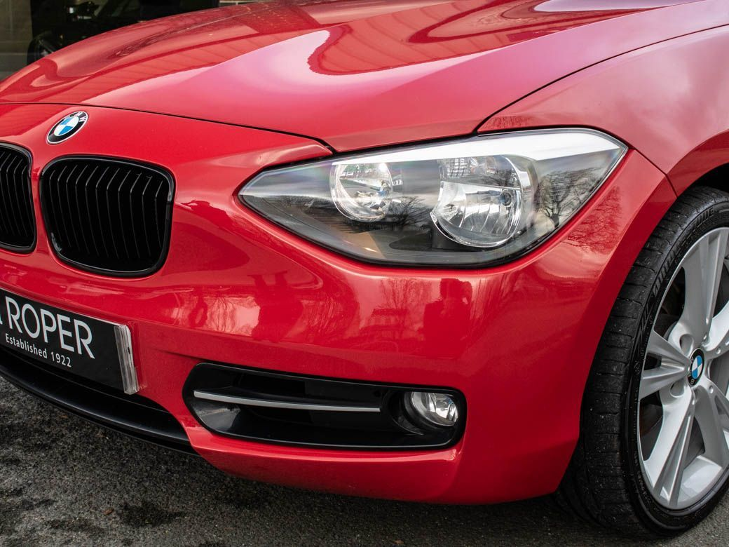 BMW 1 Series 2.0 120d xDrive Sport 5 door (Nav) Hatchback Diesel Crimson Red