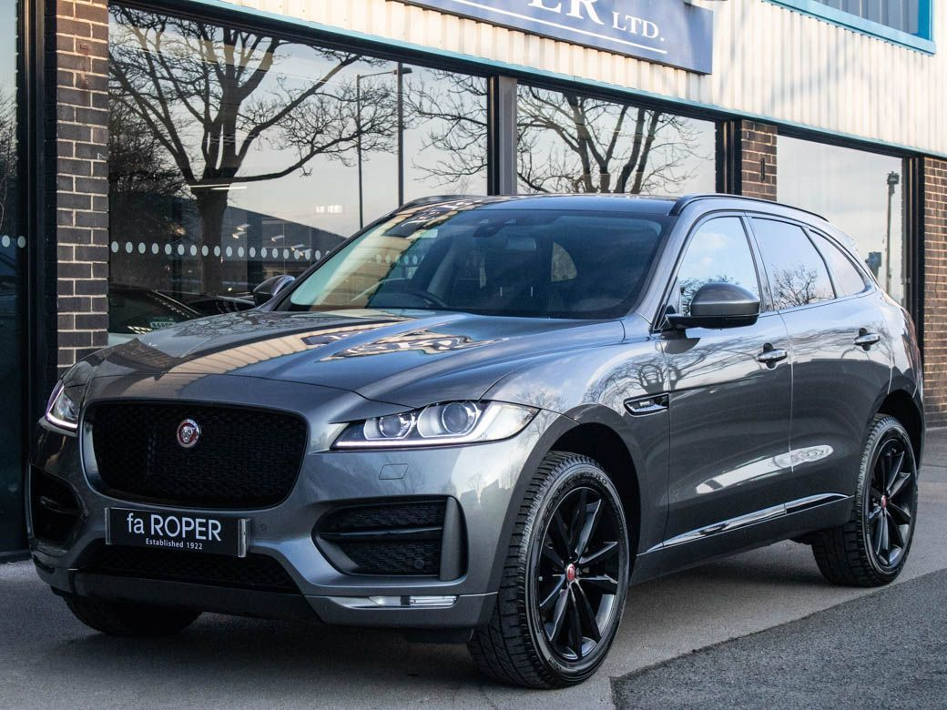 Jaguar F-pace 2.0d R-Sport Auto AWD Black Pack Estate Diesel Corris Grey MetallicJaguar F-pace 2.0d R-Sport Auto AWD Black Pack Estate Diesel Corris Grey Metallic at fa Roper Ltd Bradford