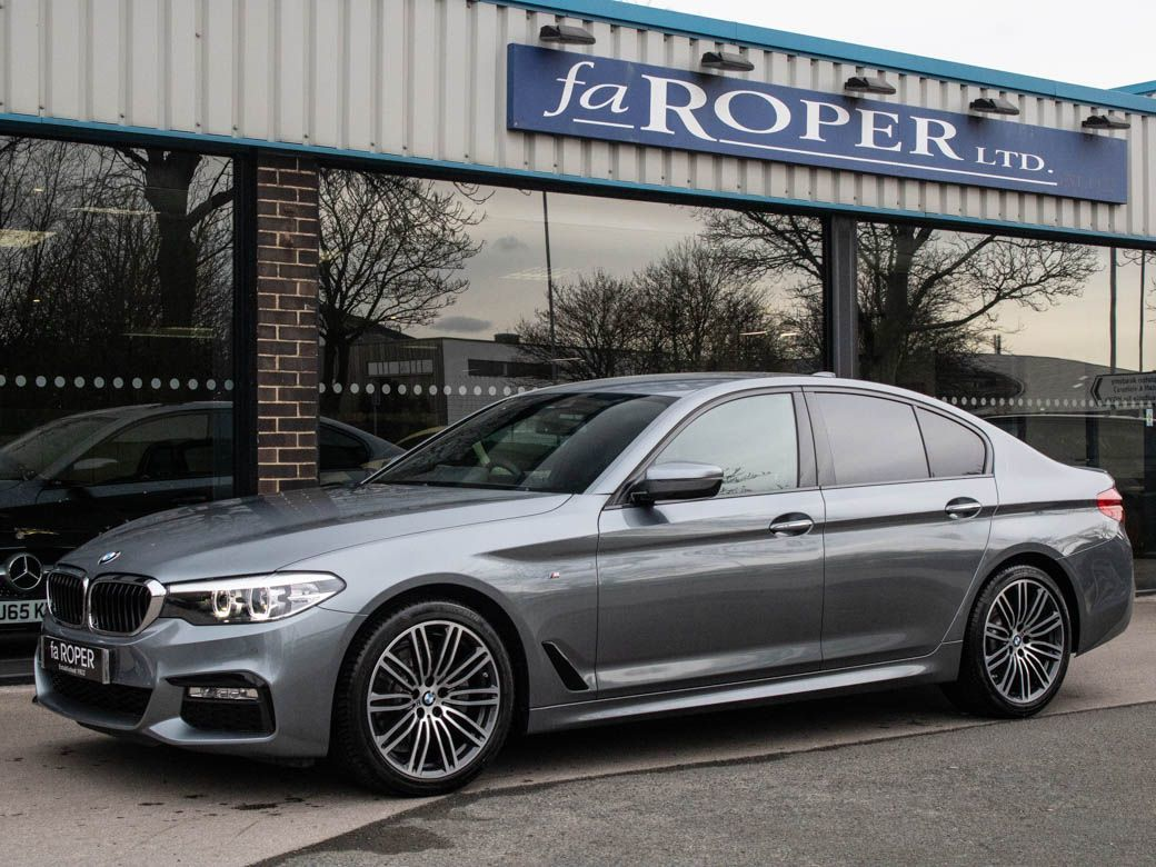 BMW 5 Series 2.0 520d xDrive M Sport Plus Pack Auto Saloon Diesel Bluestone Metallic