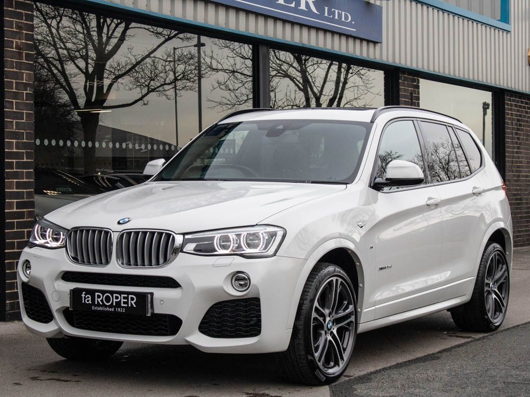 BMW X3 3.0 xDrive35d M Sport Plus Auto Estate Diesel Alpine WhiteBMW X3 3.0 xDrive35d M Sport Plus Auto Estate Diesel Alpine White at fa Roper Ltd Bradford