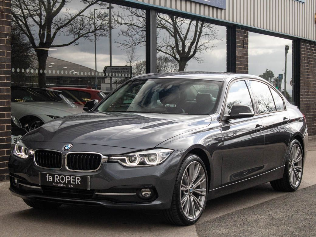 BMW 3 Series 2.0 320d EfficientDynamics Sport Auto Saloon Diesel Mineral Grey MetallicBMW 3 Series 2.0 320d EfficientDynamics Sport Auto Saloon Diesel Mineral Grey Metallic at fa Roper Ltd Bradford