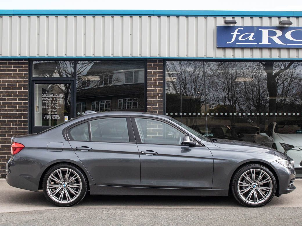 BMW 3 Series 2.0 320d EfficientDynamics Sport Auto Saloon Diesel Mineral Grey Metallic