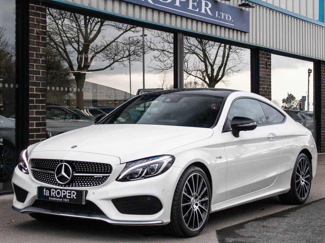 Mercedes-Benz C Class 3.0 C43 AMG Coupe 4MATIC Premium Plus Auto 367bhp Coupe Petrol Designo Diamond White MetallicMercedes-Benz C Class 3.0 C43 AMG Coupe 4MATIC Premium Plus Auto 367bhp Coupe Petrol Designo Diamond White Metallic at fa Roper Ltd Bradford
