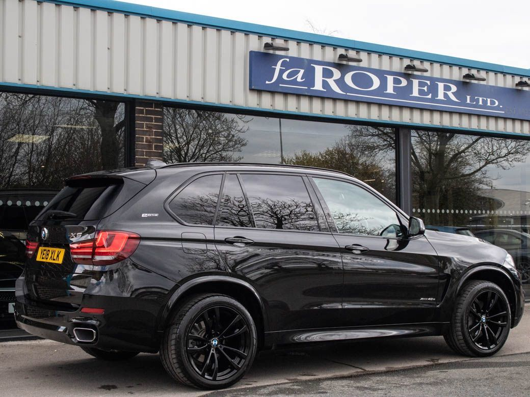 BMW X5 2.0 xDrive40e M Sport Auto Estate Hybrid Black Sapphire Metallic
