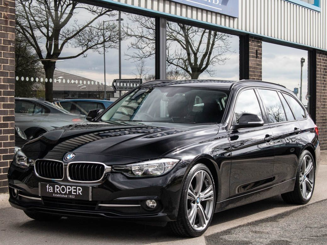 BMW 3 Series 2.0 320d EfficientDynamics Sport Touring Auto Estate Diesel Jet Black