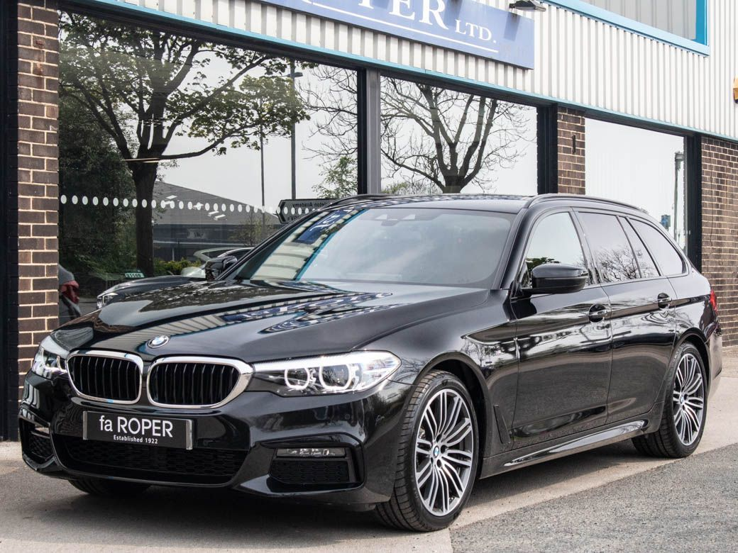 BMW 5 Series 2.0 520d xDrive Touring M Sport Plus Pack Auto Estate Diesel Black Sapphire MetallicBMW 5 Series 2.0 520d xDrive Touring M Sport Plus Pack Auto Estate Diesel Black Sapphire Metallic at fa Roper Ltd Bradford
