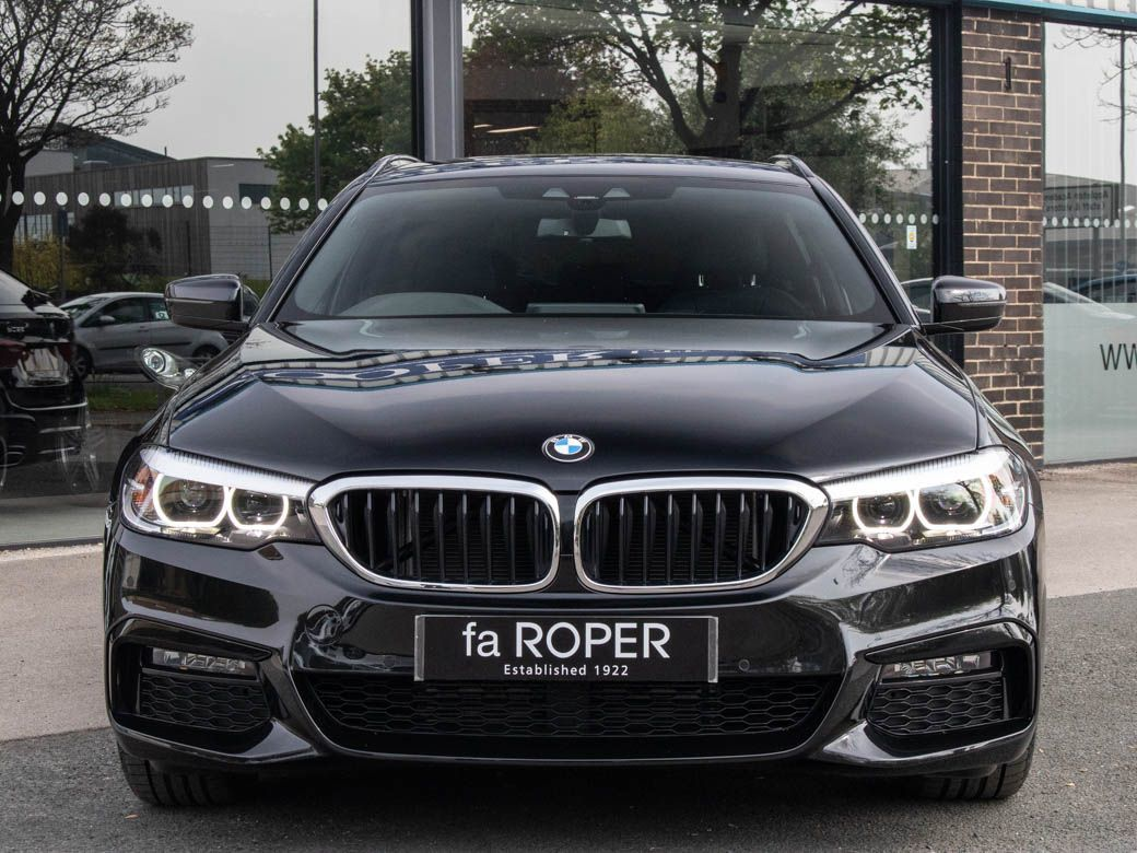 BMW 5 Series 2.0 520d xDrive Touring M Sport Plus Pack Auto Estate Diesel Black Sapphire Metallic