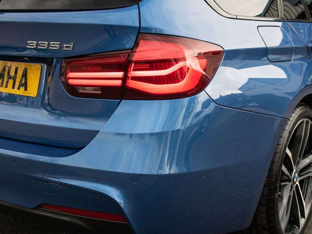 BMW 3 Series 3.0 335d xDrive Touring M Sport Shadow Edition Auto Estate Diesel Estoril Blue Metallic