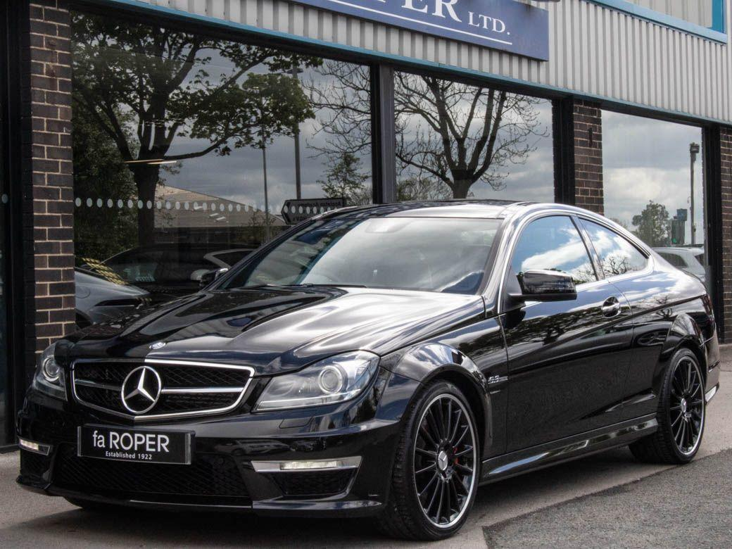 Mercedes-Benz C Class 6.2 C63 AMG Coupe Auto Performance Pack Coupe Petrol Obsidian Black MetallicMercedes-Benz C Class 6.2 C63 AMG Coupe Auto Performance Pack Coupe Petrol Obsidian Black Metallic at fa Roper Ltd Bradford