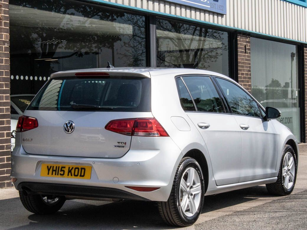 Volkswagen Golf 1.6 TDI 105 Match 5 door Hatchback Diesel Reflex Silver Metallic
