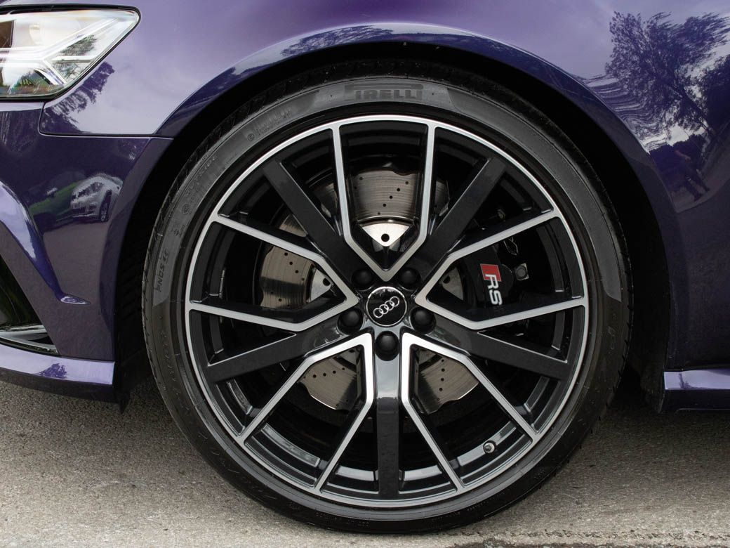 Audi RS6 4.0T FSI quattro Performance Auto (Dynamic Pack) Estate Petrol Merlin Purple Audi Exclusive Colour