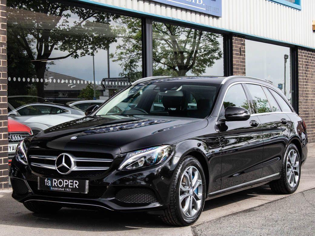 Mercedes-Benz C Class 2.0 C350e PHEV Sport Estate Auto Estate Petrol / Electric Hybrid Obsidian Black MetallicMercedes-Benz C Class 2.0 C350e PHEV Sport Estate Auto Estate Petrol / Electric Hybrid Obsidian Black Metallic at fa Roper Ltd Bradford