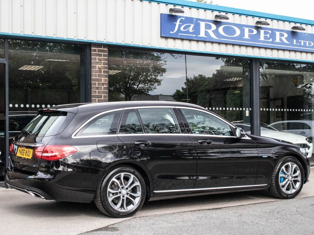 Mercedes-Benz C Class 2.0 C350e PHEV Sport Estate Auto Estate Petrol / Electric Hybrid Obsidian Black Metallic