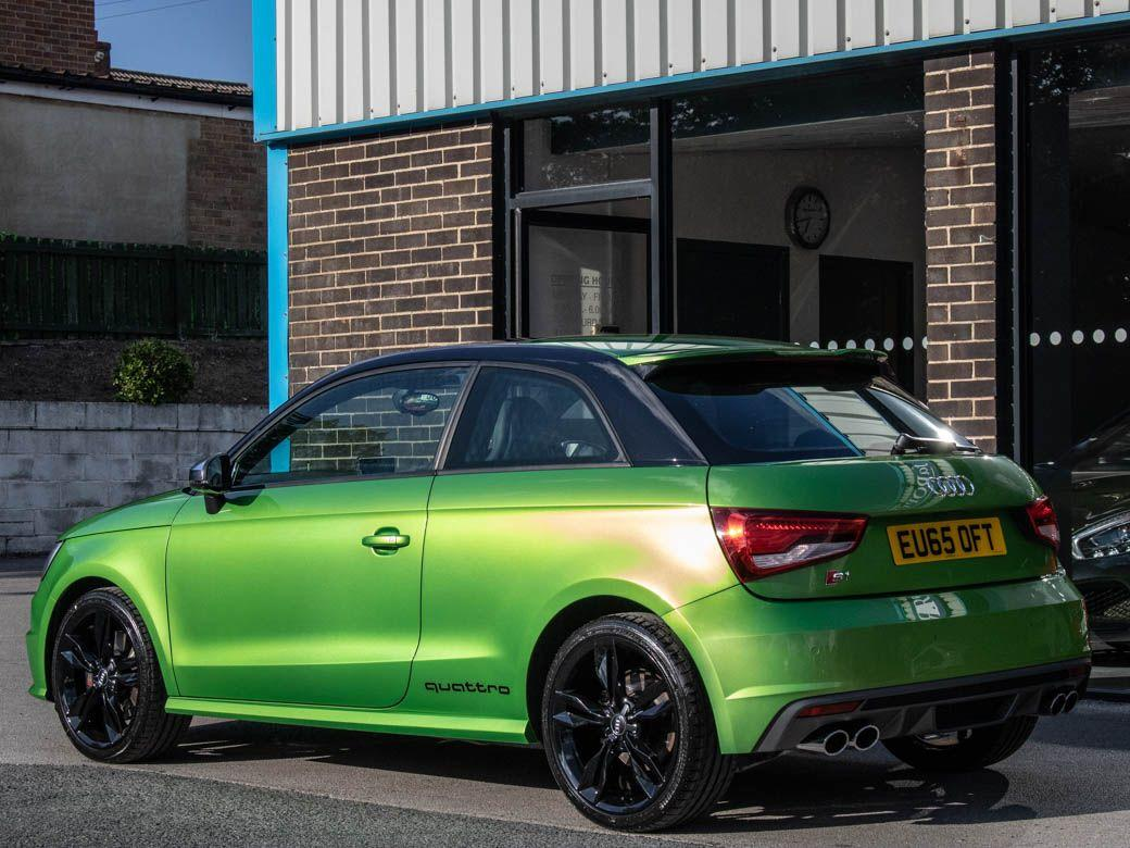 Audi A1 2.0 S1 TFSI quattro 3 door Hatchback Petrol Java Green Exclusive Paint Finish