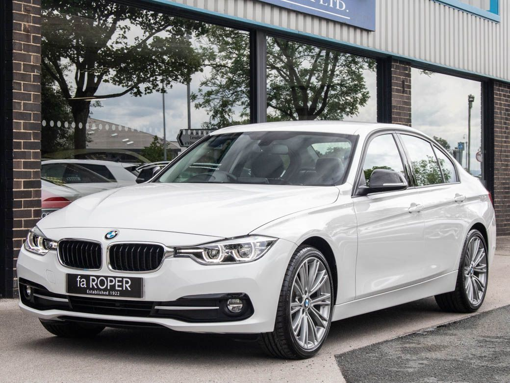 BMW 3 Series 2.0 320d EfficientDynamics Sport Auto Saloon Diesel Alpine WhiteBMW 3 Series 2.0 320d EfficientDynamics Sport Auto Saloon Diesel Alpine White at fa Roper Ltd Bradford
