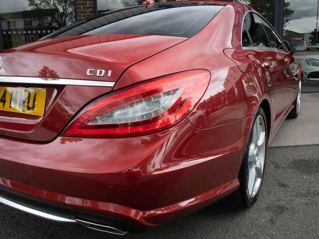 Mercedes-Benz CLS 2.1 CLS250 CDI BlueEFFICIENCY AMG Sport 7G-Tronic Plus (s/s) Coupe Diesel Designo Hyacinth Red Metallic
