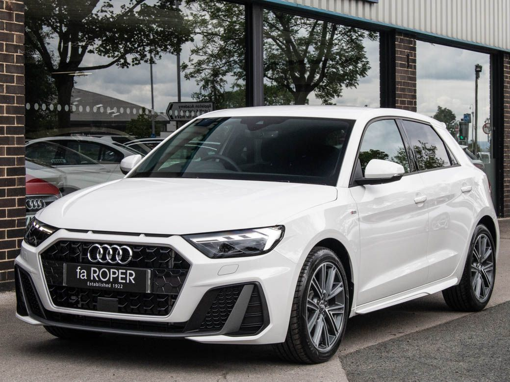 Audi A1 1.5 35 TFSI S Line 5 door 150ps Hatchback Petrol Shell WhiteAudi A1 1.5 35 TFSI S Line 5 door 150ps Hatchback Petrol Shell White at fa Roper Ltd Bradford