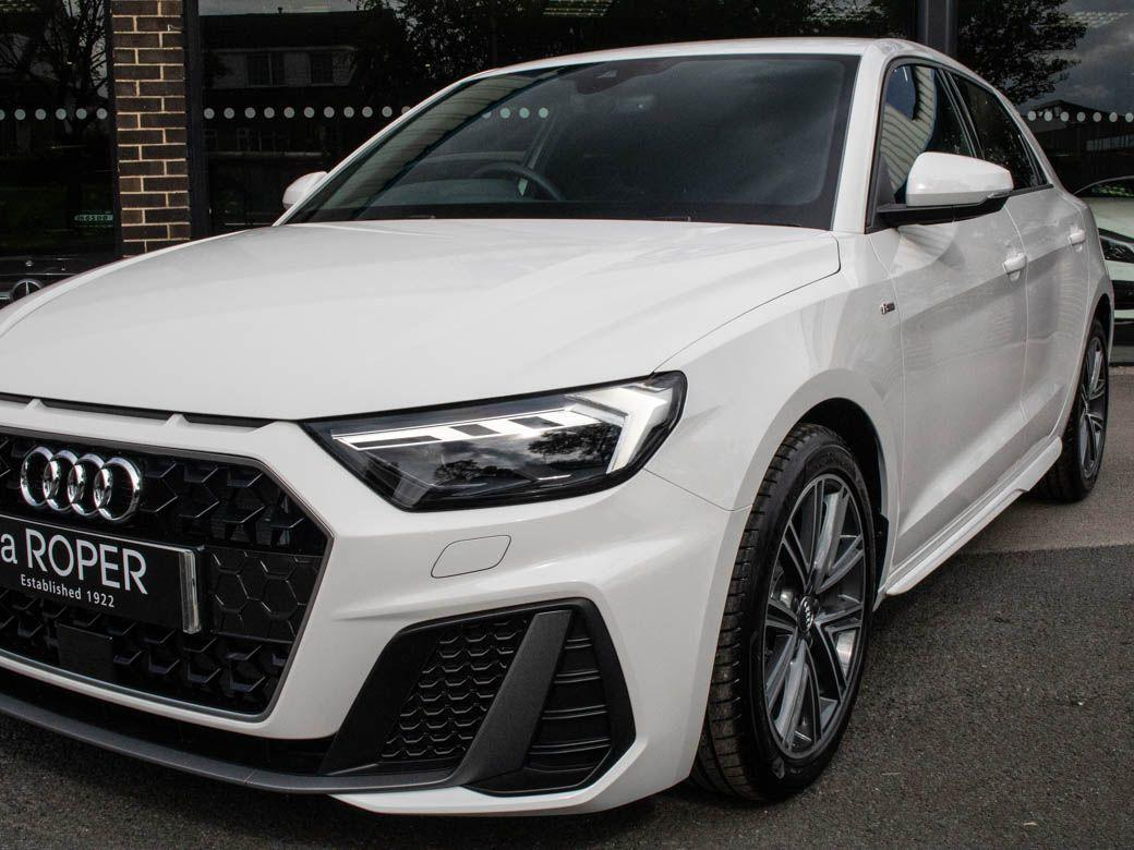 Audi A1 1.5 35 TFSI S Line 5 door 150ps Hatchback Petrol Shell White