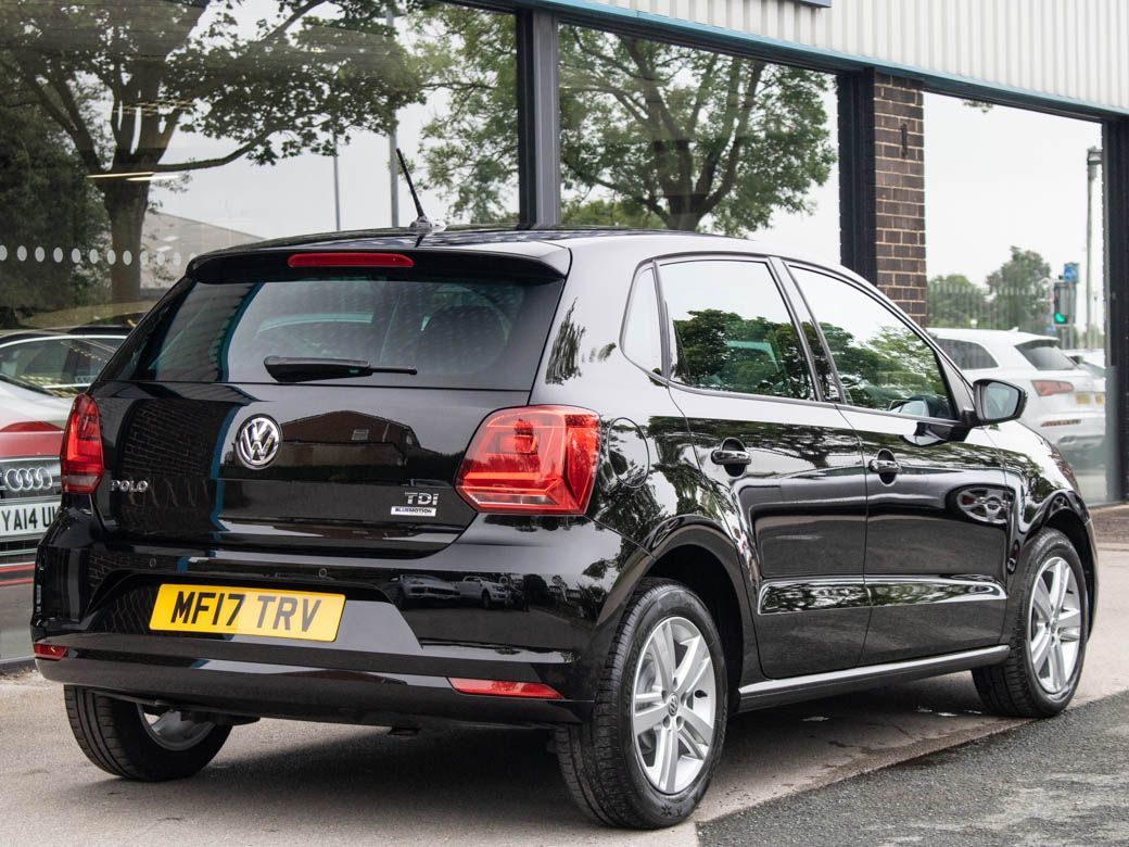 Volkswagen Polo 1.4 TDI 75 Match Edition 5dr Hatchback Diesel Brilliant Black