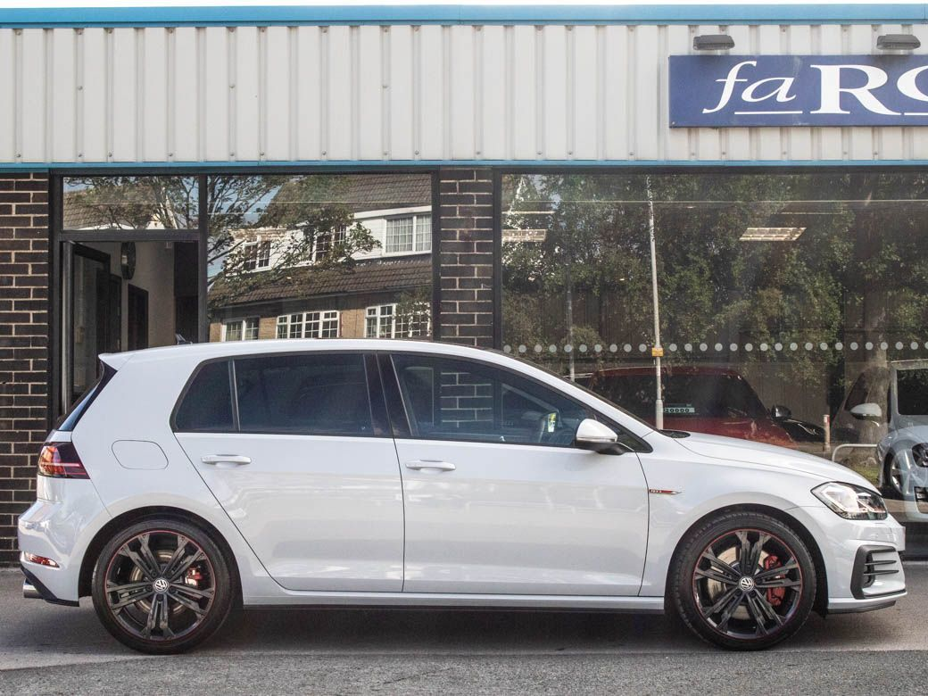 Volkswagen Golf 2.0 TSI GTI Performance 245ps 5 door DSG Hatchback Petrol White Silver Metallic
