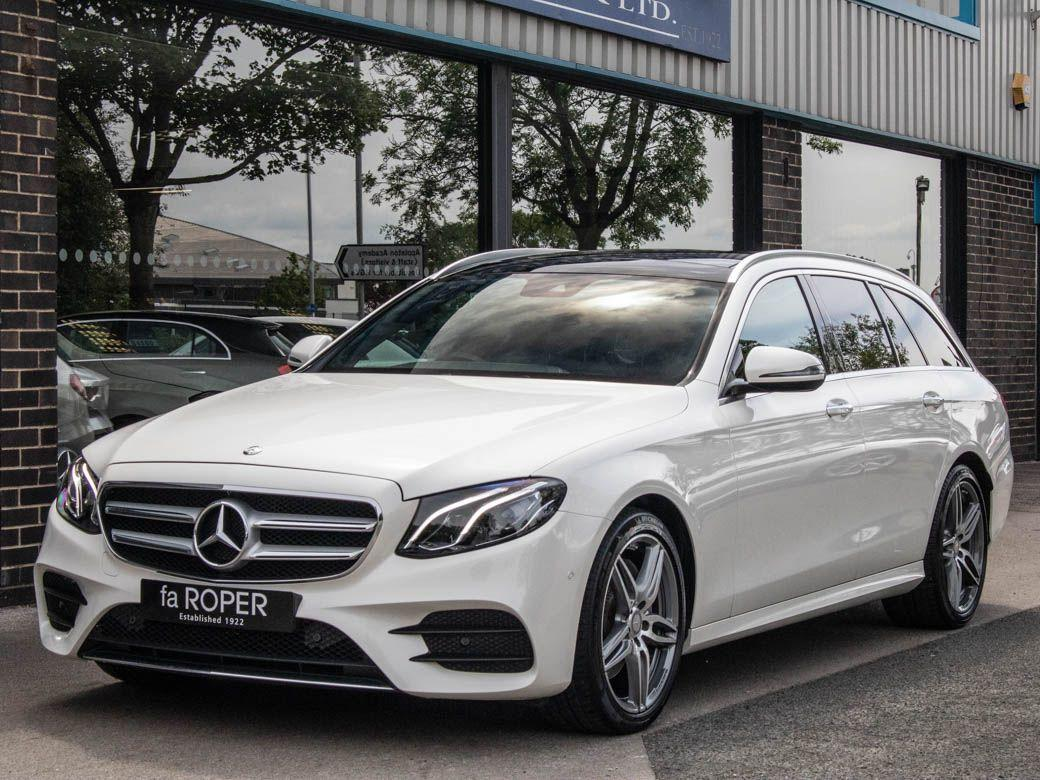 Mercedes-Benz E Class 2.0 E220d AMG Line Premium Estate 9G-tronic Estate Diesel Diamond White MetallicMercedes-Benz E Class 2.0 E220d AMG Line Premium Estate 9G-tronic Estate Diesel Diamond White Metallic at fa Roper Ltd Bradford