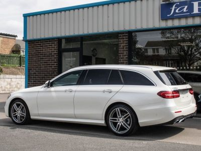 Mercedes-Benz E Class 2.0 E220d AMG Line Premium Estate 9G-tronic Estate Diesel Diamond White Metallic