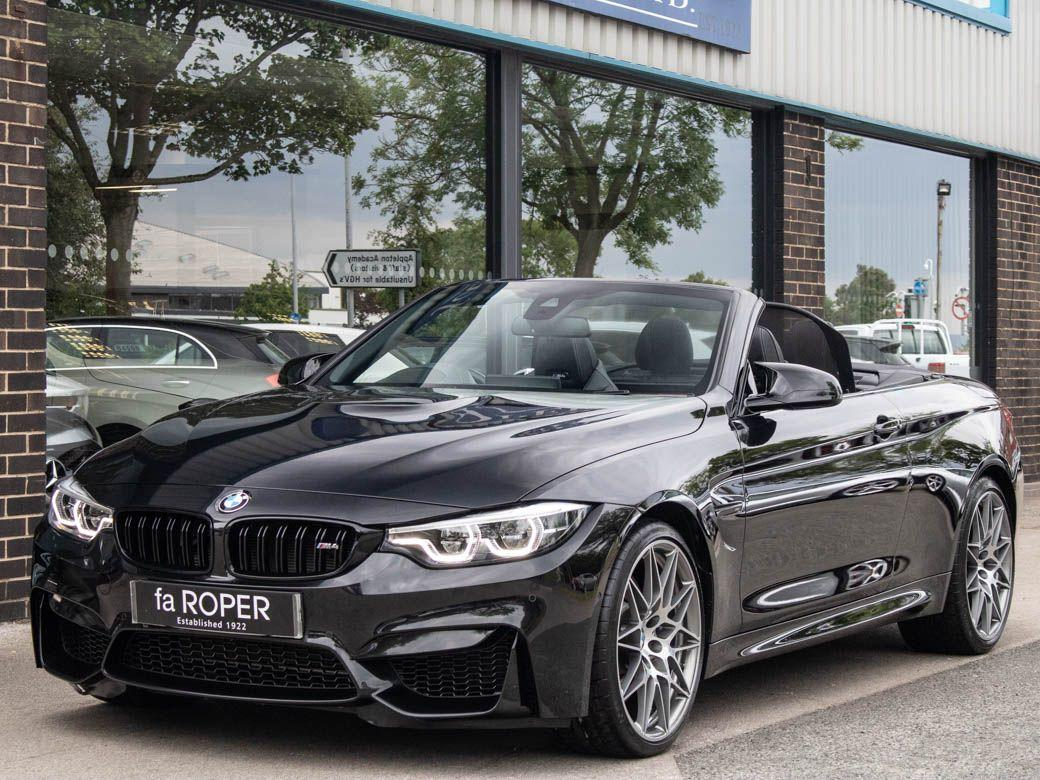BMW M4 M4 3.0 Convertible DCT [Competition Pack] Convertible Petrol Black Sapphire MetallicBMW M4 M4 3.0 Convertible DCT [Competition Pack] Convertible Petrol Black Sapphire Metallic at fa Roper Ltd Bradford