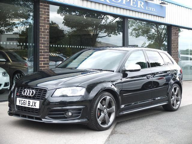 Audi S3 2.0 S3 Quattro Black Edition 5dr S Tronic +++Spec Hatchback Petrol Phantom Black MetallicAudi S3 2.0 S3 Quattro Black Edition 5dr S Tronic +++Spec Hatchback Petrol Phantom Black Metallic at fa Roper Ltd Bradford