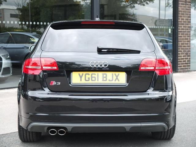 Audi S3 2.0 S3 Quattro Black Edition 5dr S Tronic +++Spec Hatchback Petrol Phantom Black Metallic