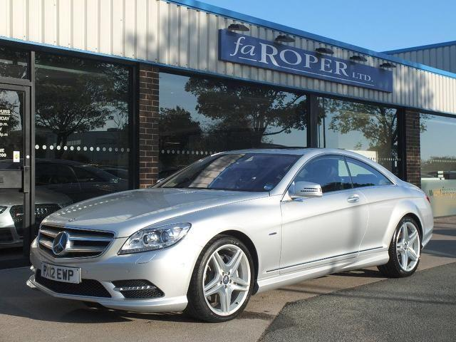 Mercedes-Benz CL 4.7 CL 500 CGI BlueEFFICIENCY 2dr Auto (Driver Assistance Package +++Spec) Coupe Petrol Iridium Silver Metallic