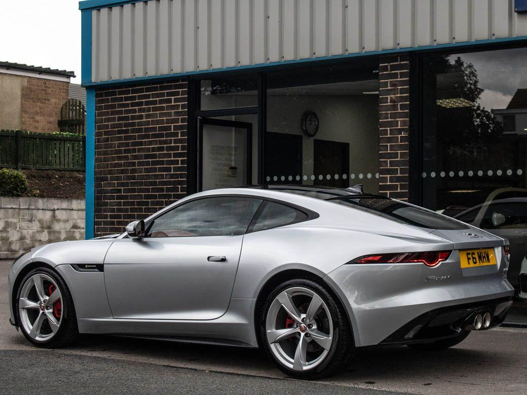Jaguar F-type 3.0 Supercharged V6 R-Dynamic Auto 380ps Coupe Petrol Indus Silver Metallic