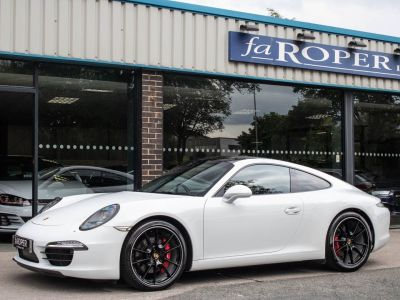 Porsche 911 991 Carrera 3.8 S PDK Coupe Petrol Carrara White Metallic