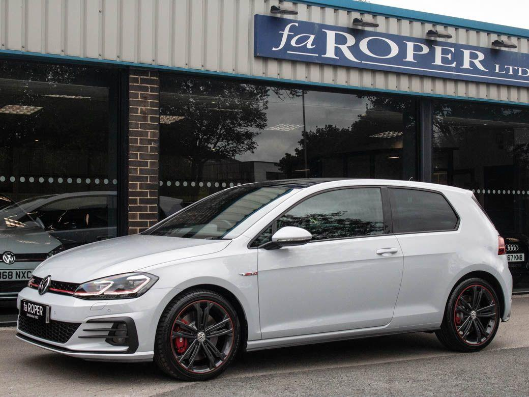 Volkswagen Golf 2.0 TSI GTI Performance 245ps 3 door DSG Hatchback Petrol White Silver Metalic