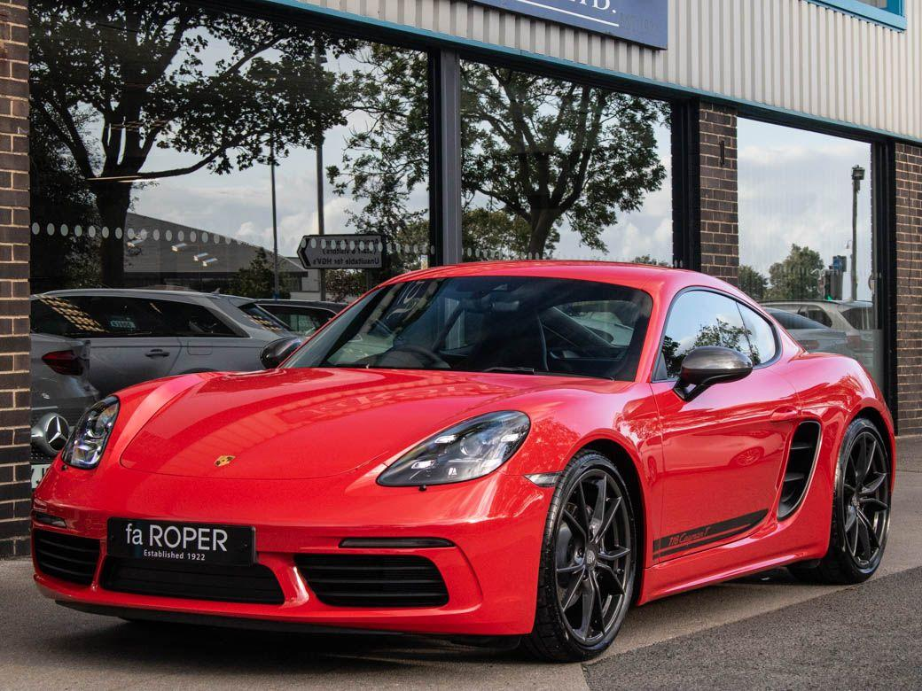 Porsche Cayman 2.0 718 T Manual 6 Speed 300ps Coupe Petrol Guards RedPorsche Cayman 2.0 718 T Manual 6 Speed 300ps Coupe Petrol Guards Red at fa Roper Ltd Bradford
