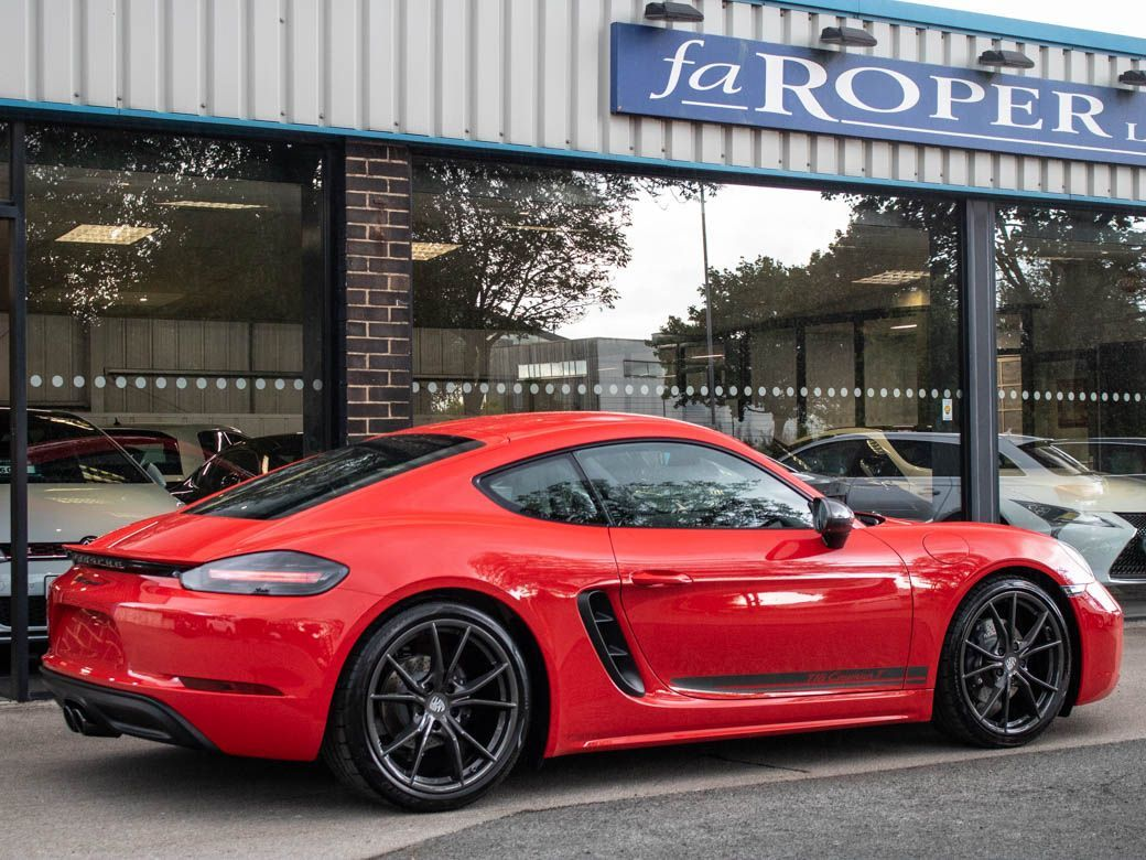 Porsche Cayman 2.0 718 T Manual 6 Speed 300ps Coupe Petrol Guards Red