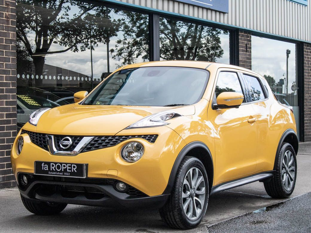 Nissan Juke 1.5 dCi Tekna Hatchback Diesel Sun Light Yellow