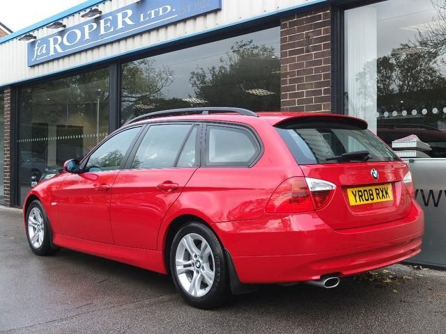 BMW 3 Series 2.0 318i SE Touring [143] 5dr Estate Petrol Crimson Red