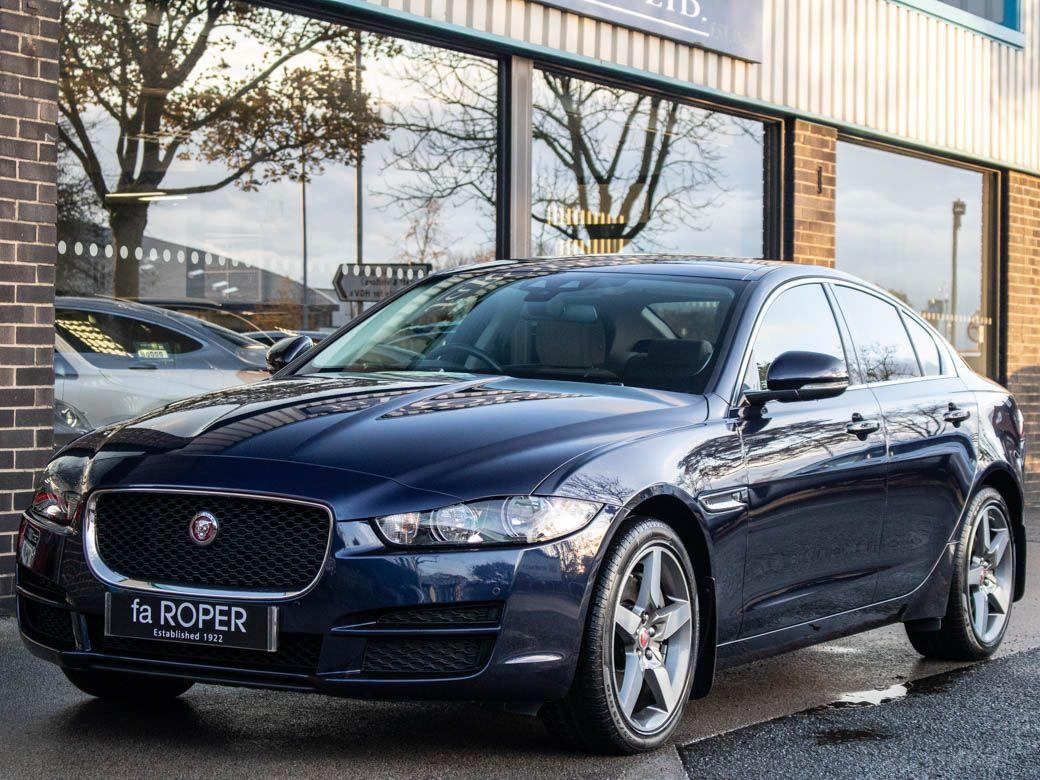 Jaguar XE 2.0i Prestige 250ps AWD Auto Saloon Petrol Loire Blue MetallicJaguar XE 2.0i Prestige 250ps AWD Auto Saloon Petrol Loire Blue Metallic at fa Roper Ltd Bradford
