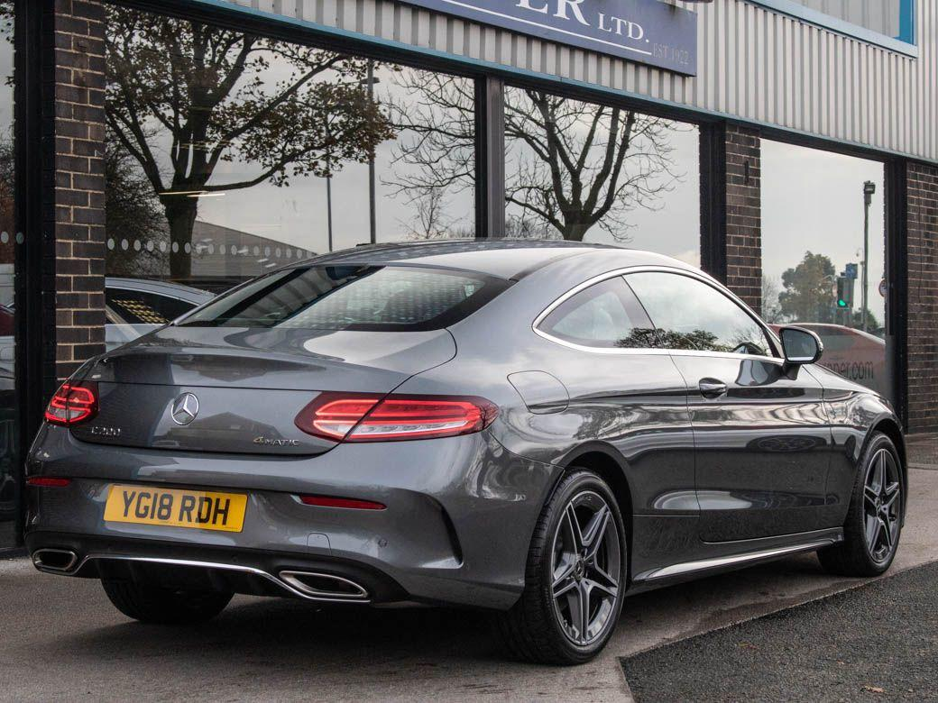 Mercedes-Benz C Class 1.5 C200 Coupe 4Matic AMG Line Premium 9G-Tronic Coupe Petrol Selenite Grey Metallic