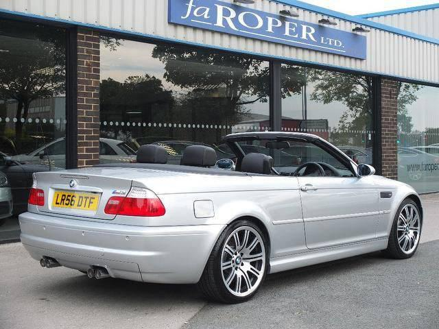 BMW M3 3.2 M3 Convertible SMG Auto ++++Spec Convertible Petrol Silver