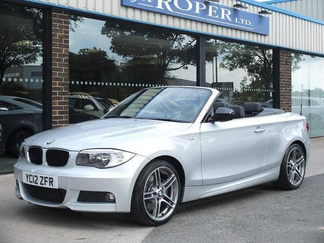 BMW 1 Series 2.0 123d Sport Plus Edition Convertible  ++++Spec Convertible Diesel SilverBMW 1 Series 2.0 123d Sport Plus Edition Convertible  ++++Spec Convertible Diesel Silver at fa Roper Ltd Bradford