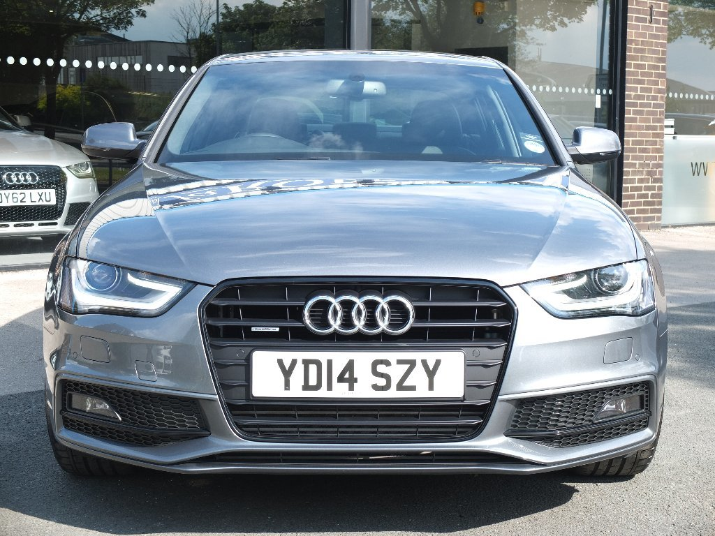 Audi A4 3.0 TDI Quattro Black Edition 4dr S Tronic (Tech Pack) Saloon Diesel Grey