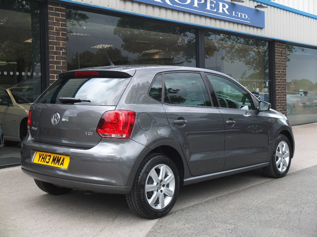 Volkswagen Polo 1.2 TDI Match 5dr Hatchback Diesel Grey