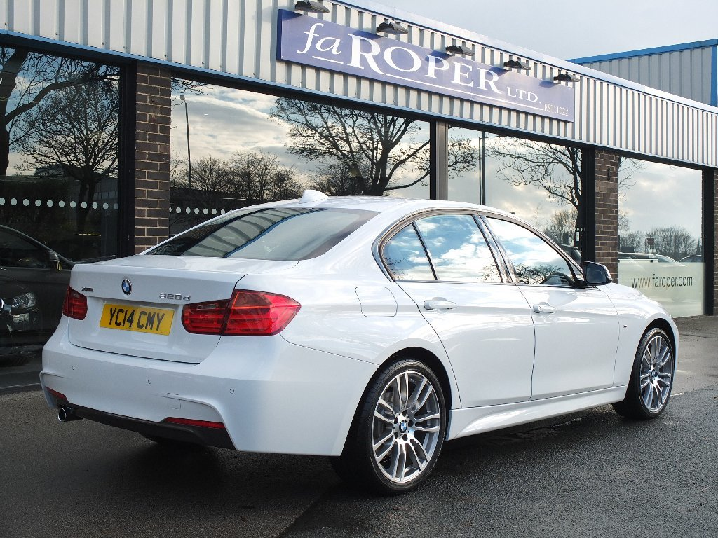 BMW 3 Series 2.0TD (s/s) 320d xDrive M Sport 4WD Automatic (Media Pack) Saloon Diesel White