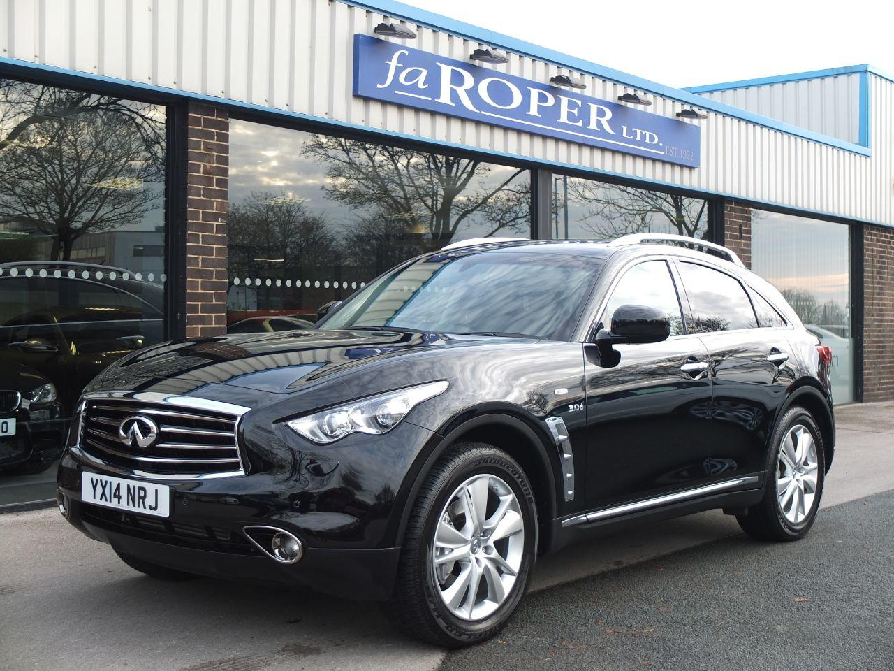Infiniti Qx70 3.0d GT Auto (Multimedia Pack) Four Wheel Drive Diesel Black