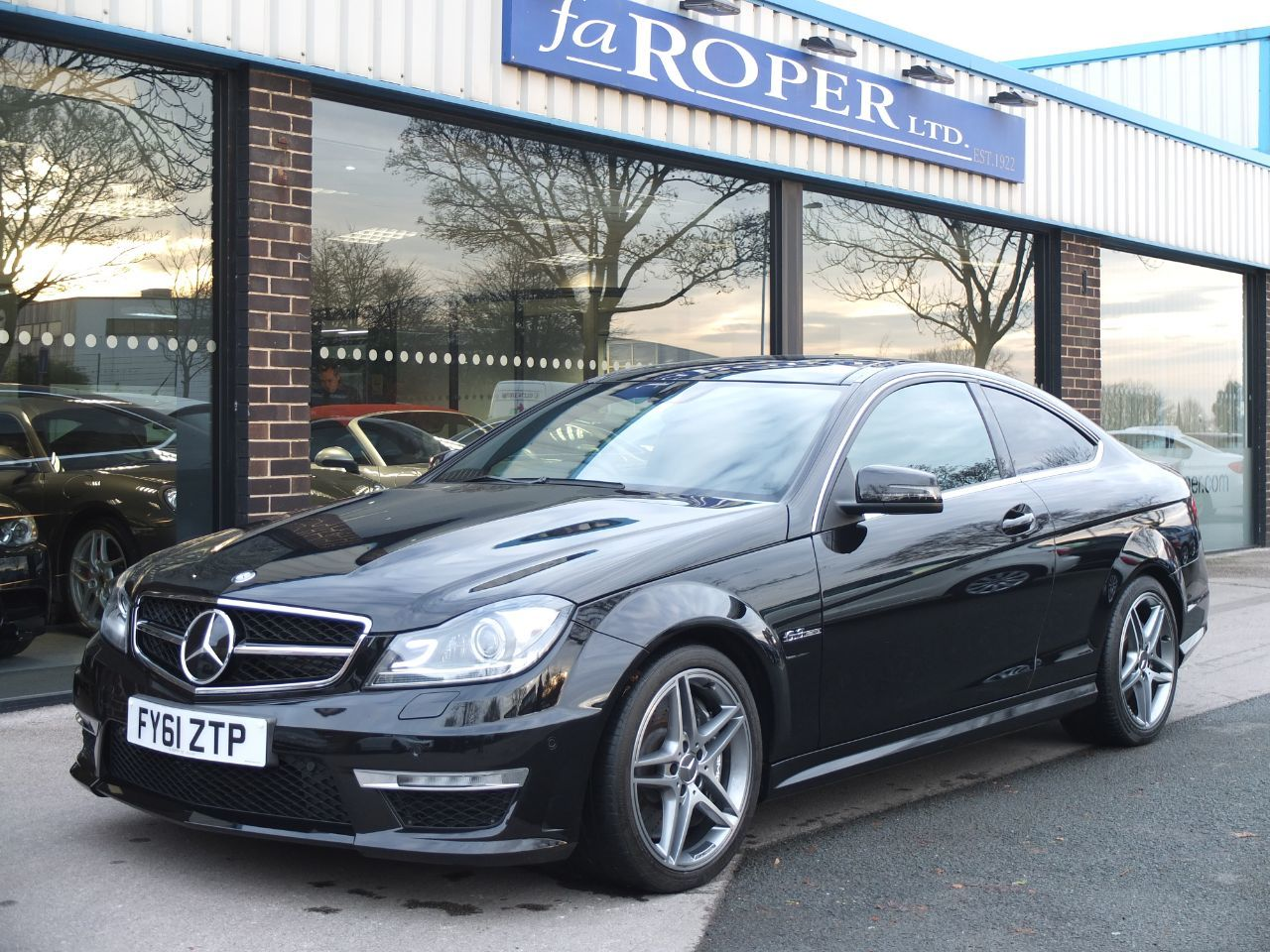 Mercedes-Benz C Class 6.2 C63 Edition 125 2dr Auto COUPE +++SPEC Coupe Petrol BlackMercedes-Benz C Class 6.2 C63 Edition 125 2dr Auto COUPE +++SPEC Coupe Petrol Black at fa Roper Ltd Bradford