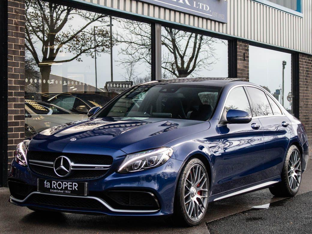 Mercedes-Benz C Class 4.0 C63 S Premium 4 door Auto 510ps Saloon Petrol Brilliant Blue MetallicMercedes-Benz C Class 4.0 C63 S Premium 4 door Auto 510ps Saloon Petrol Brilliant Blue Metallic at fa Roper Ltd Bradford
