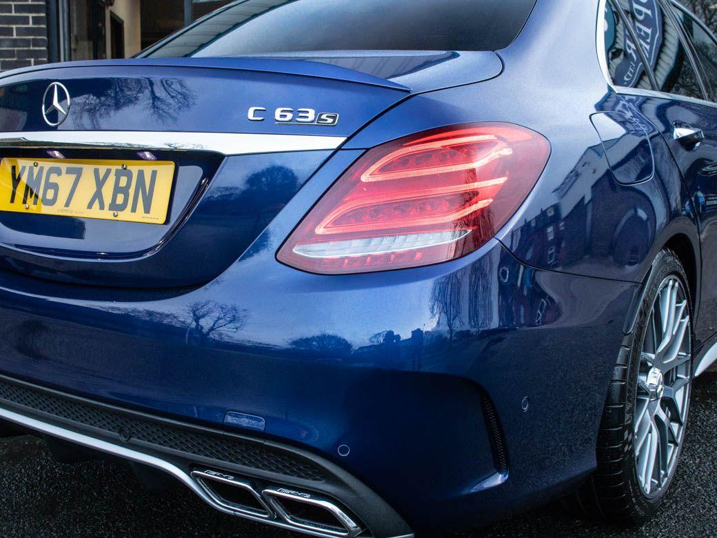 Mercedes-Benz C Class 4.0 C63 S Premium 4 door Auto 510ps Saloon Petrol Brilliant Blue Metallic