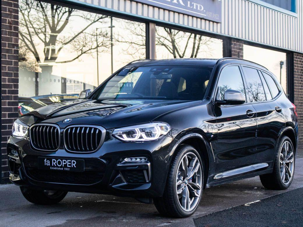 BMW X3 3.0 xDrive M40i M Sport Plus Pack Auto 360ps Estate Petrol Black Sapphire MetallicBMW X3 3.0 xDrive M40i M Sport Plus Pack Auto 360ps Estate Petrol Black Sapphire Metallic at fa Roper Ltd Bradford