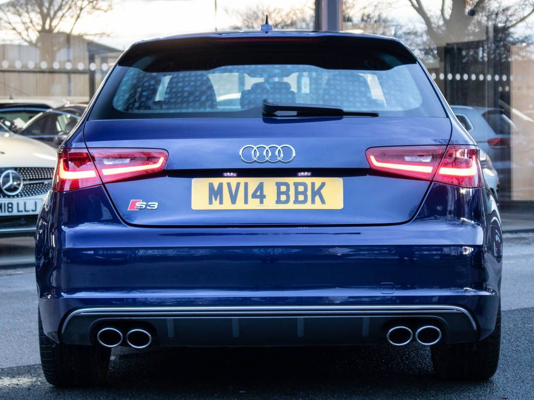 Audi A3 2.0 S3 TFSI quattro 3 door S tronic Hatchback Petrol Estoril Blue Metallic